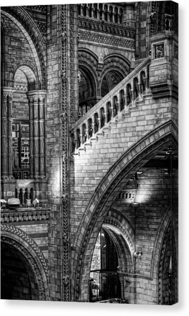 Escheresq Bw Canvas Print