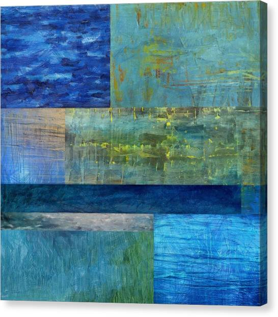 Essence Of Blue 2.0 Canvas Print