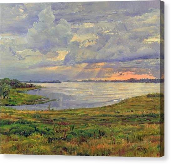 Estuary Polovinka Canvas Print