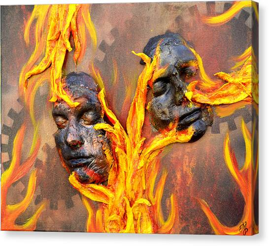 Eternal Damnation Canvas Print