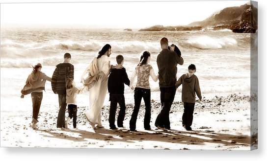 Eternal Family Canvas Print
