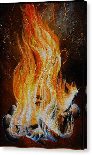 Canvas Print - Eternal Fire by Lori Salisbury
