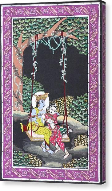 Eternal Romance Canvas Print by Prasida Yerra