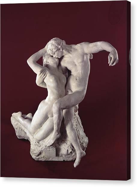 Passionate Canvas Print - Eternal Springtime by Auguste Rodin