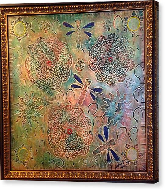 Alfredo Garcia Canvas Print - Eternal Sun By Alfredo Garcia  by Alfredo Garcia