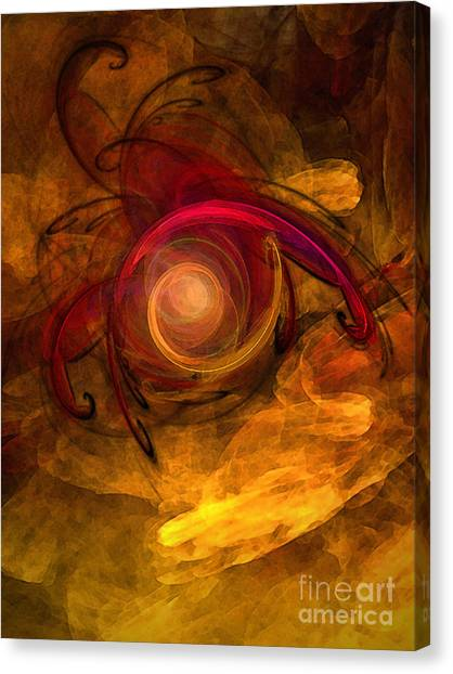 Eternity Of Being-abstract Expressionism Canvas Print
