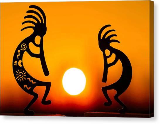 Eternity's Sunrise Canvas Print