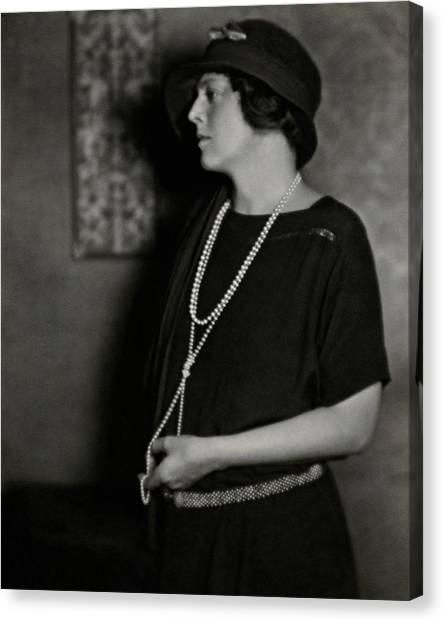 Ethel Barrymore Canvas Print by Nickolas Muray