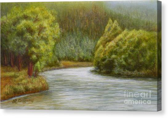 Ethereal River Canvas Print