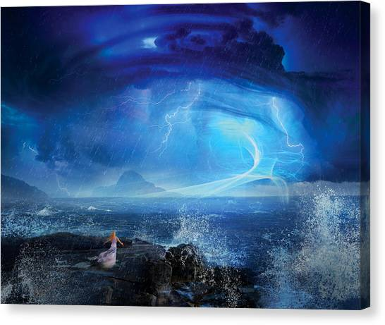 Magicians Canvas Print - Etherstorm by Philip Straub