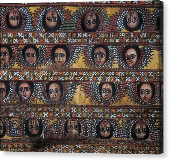Coptic Art Canvas Print - Ethiopia. Amhara. Gonderr. Debre Berhan by Everett