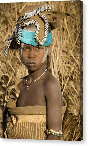 Ethiopia Tribe Canvas Print