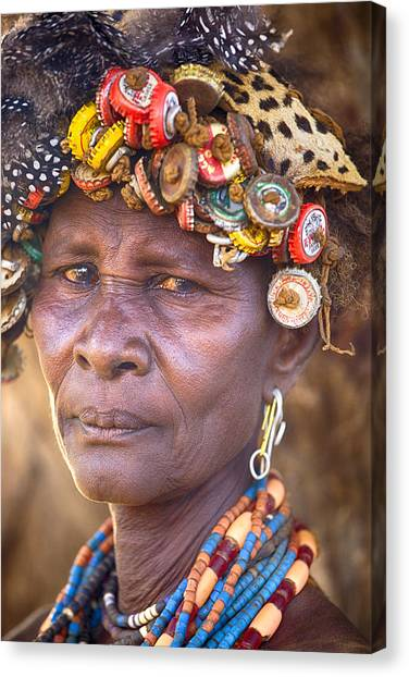 Ethiopia Women Canvas Print