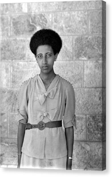 Ethiopian Woman Canvas Print - Ethiopian Woman, 1920s by Granger