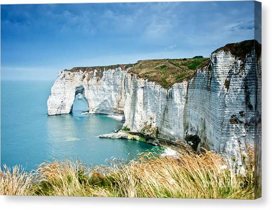 Etretat Canvas Print - Etretat by Delphimages Photo Creations