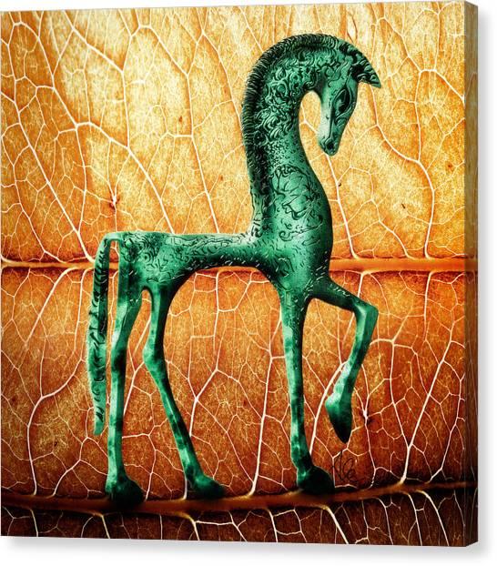 Etruscan Horse Canvas Print