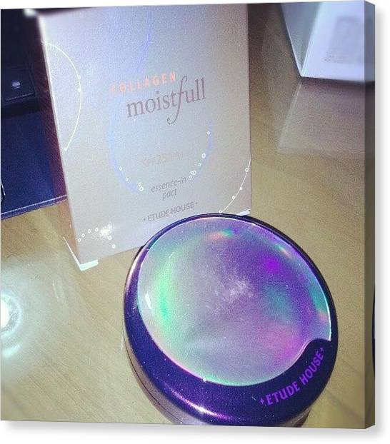 Korean Canvas Print - Etude House Collagen Moistfull by Karina Fidela