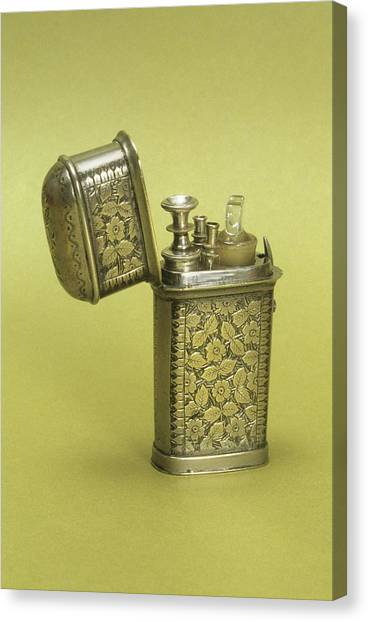1880s Canvas Print - Etui With Syringe by Science Photo Library