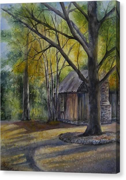 Eulah's Gold Canvas Print
