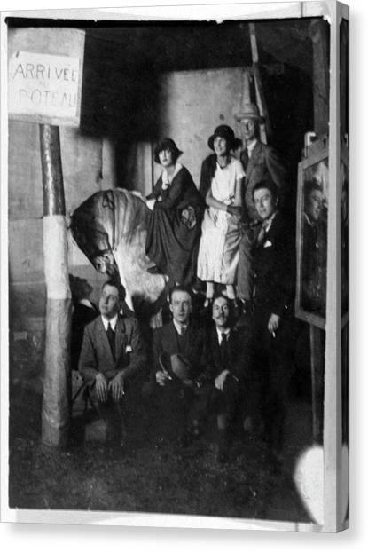 Salvador Dali Canvas Print - European Surrealists by Cci Archives