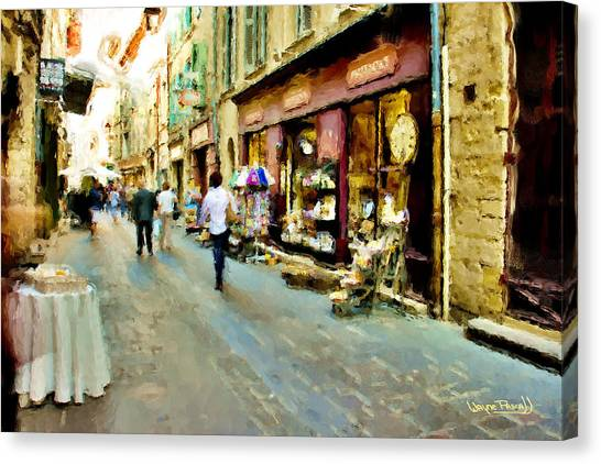 Euroscape - 5 Canvas Print by Wayne Pascall