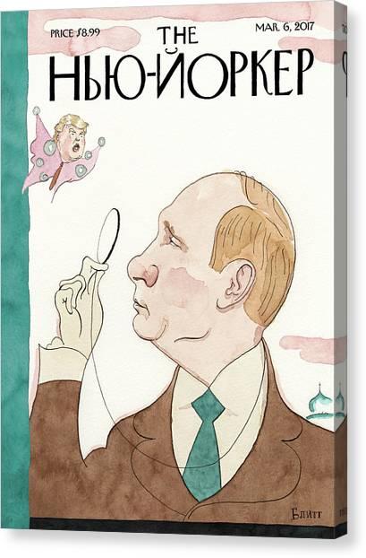 Eustace Vladimirovich Tilley Canvas Print