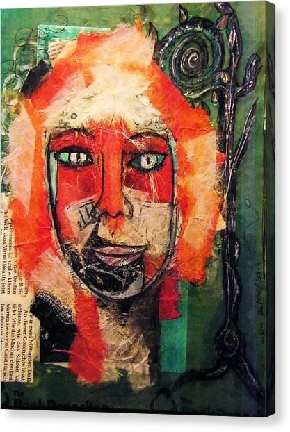 Eva Smiles Canvas Print