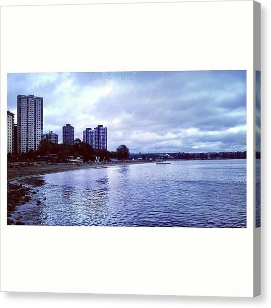 Vancouver Skyline Canvas Print - Even On A Gloomy Day, You're Still by Glenny S