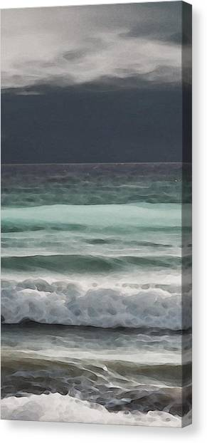 Even Tides Canvas Print