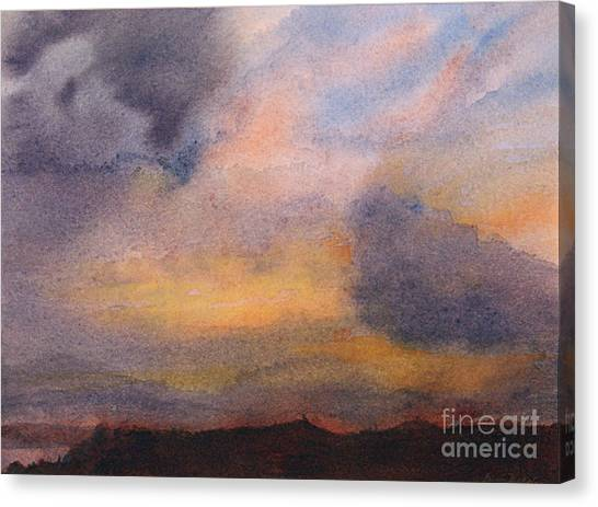Evening Approaching 2 Canvas Print by Gwen Nichols