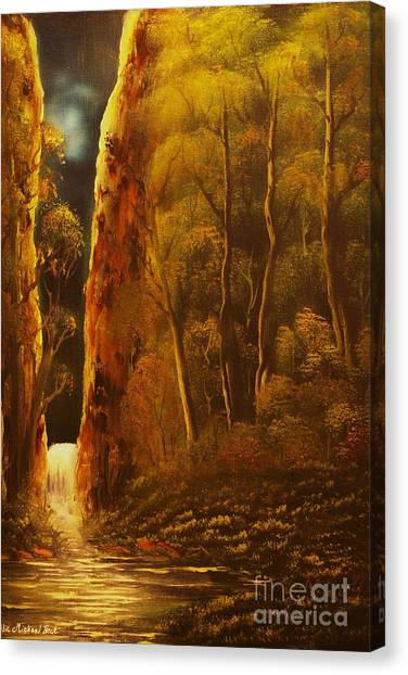 Evening Calm-original Sold-buy Giclee Print Nr 30 Of Limited Edition Of 40 Prints  Canvas Print