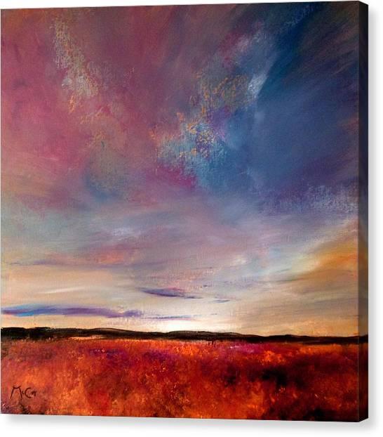 Evening Colours Canvas Print