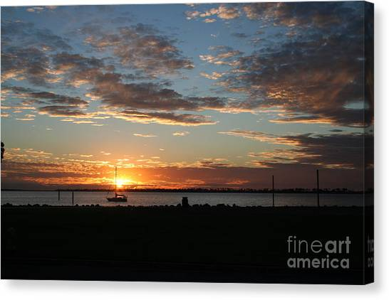 Evening Relaxation Canvas Print by Laura Paine