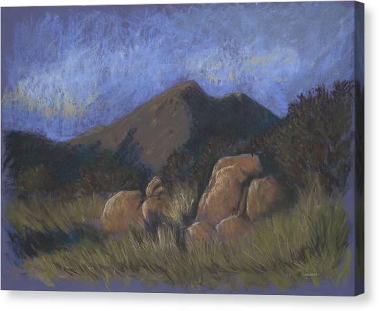 Evening Shadows Fall Canvas Print