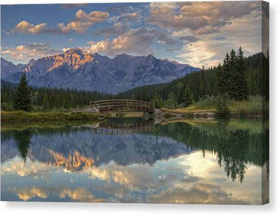 Evening Solitude At Cascade Ponds Canvas Print