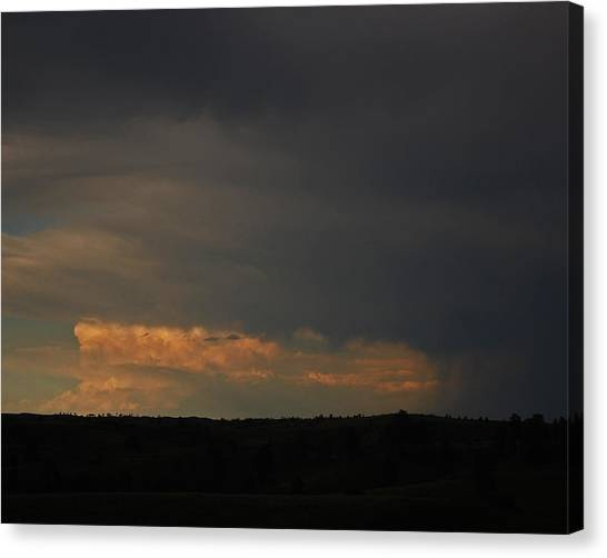 Canvas Print - Evening Storm by Randall Templeton