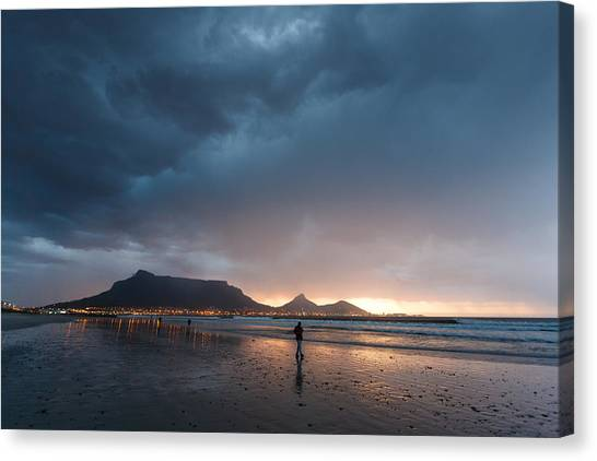 Evening Stroll Canvas Print