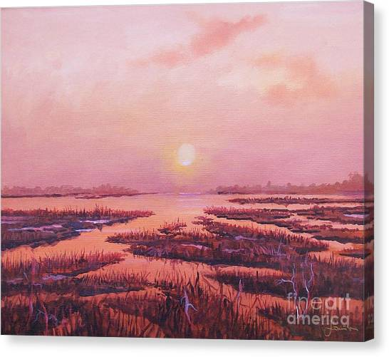 Evening Time Canvas Print