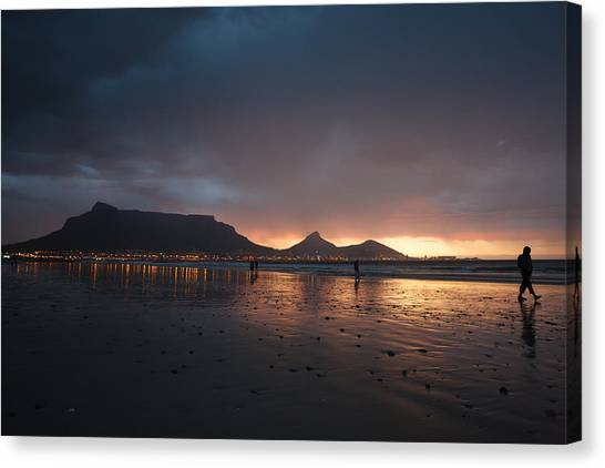 Evening Walk Canvas Print