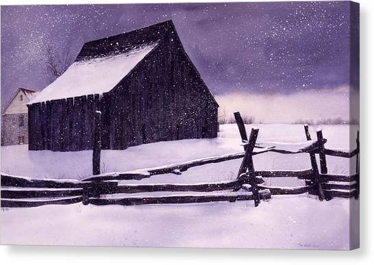 Evening's Quiet Canvas Print