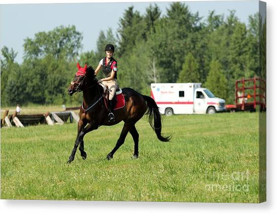 Eventing Fun Canvas Print