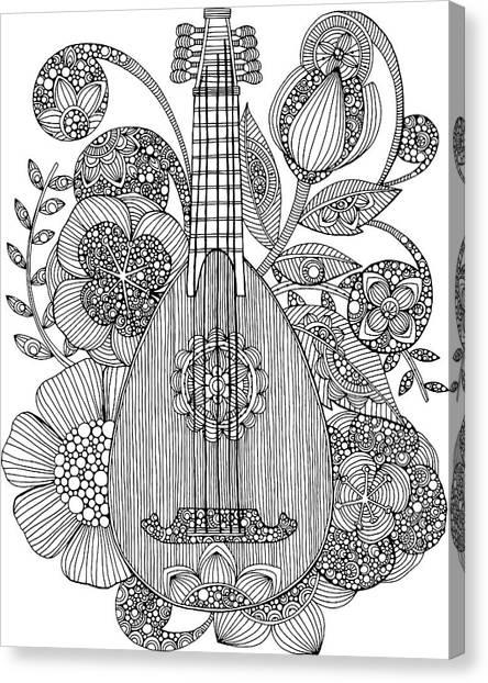 Mandolins Canvas Print - Ever Mandolin by Valentina Harper