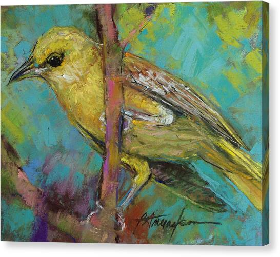 Ever Watchful Canvas Print by Beverly Amundson
