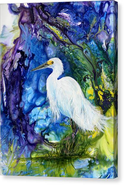 Everglades Fantasy Canvas Print