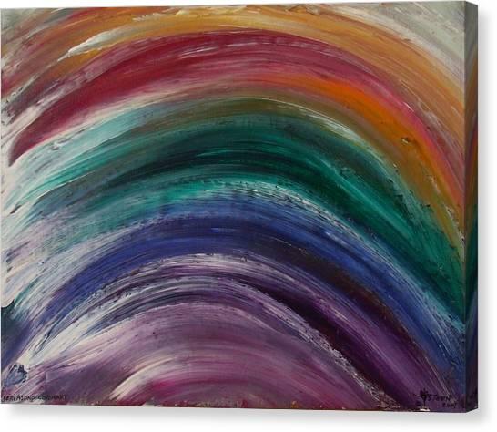 Everlasting Covenant Rainbow Canvas Print