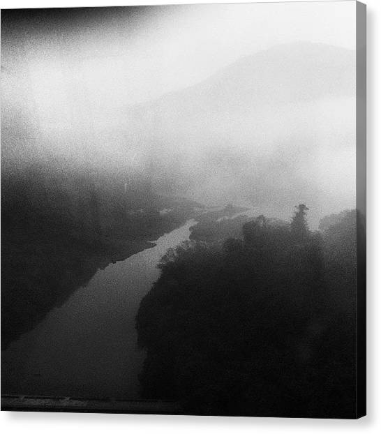 Milk Canvas Print - Every Morning On My Route From Home To by Milk Spoon