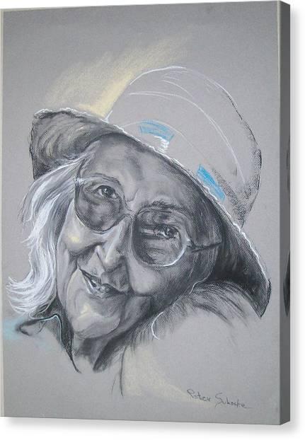 Everybodys Grandma Canvas Print
