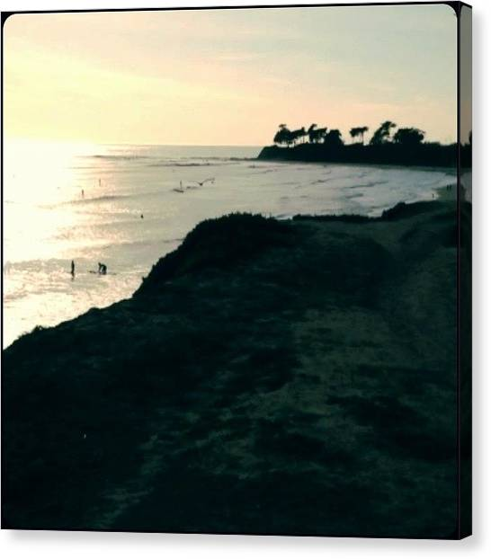 Ucsb Canvas Print - everyday, Think As You Wake Up, Today by Mckenzie Kane