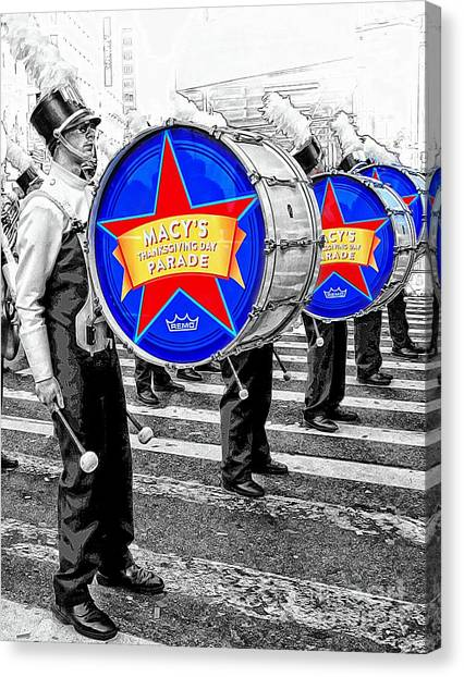 Everyone Loves A Parade Canvas Print