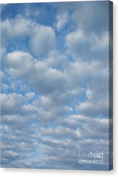 Everywhere - Clouds Canvas Print by Margaret McDermott